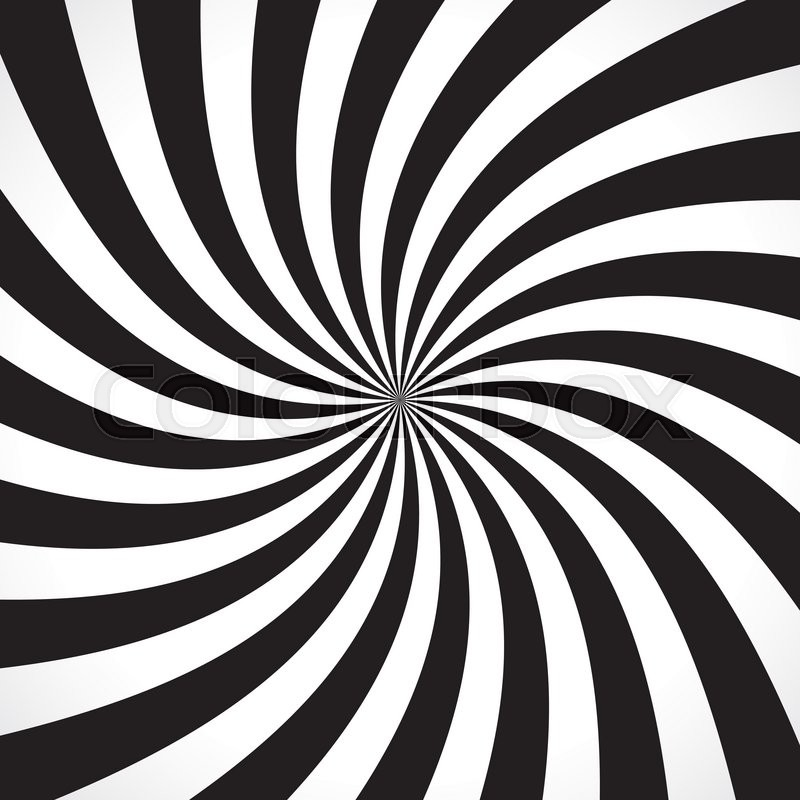 Swirling Radial Design Free