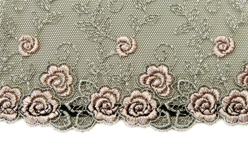 Schwarze Tapete Mit Wei?em Muster : Rose with Black Lace Pattern