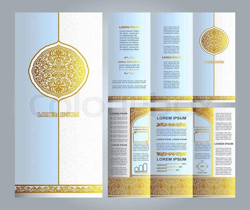 ... Gold and Green colors and artistic solutions for design and decoration
