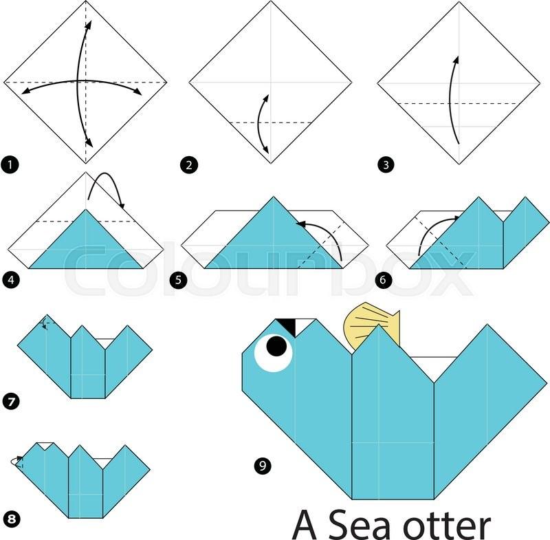 Origami Otter Diagram Block And Schematic Diagrams
