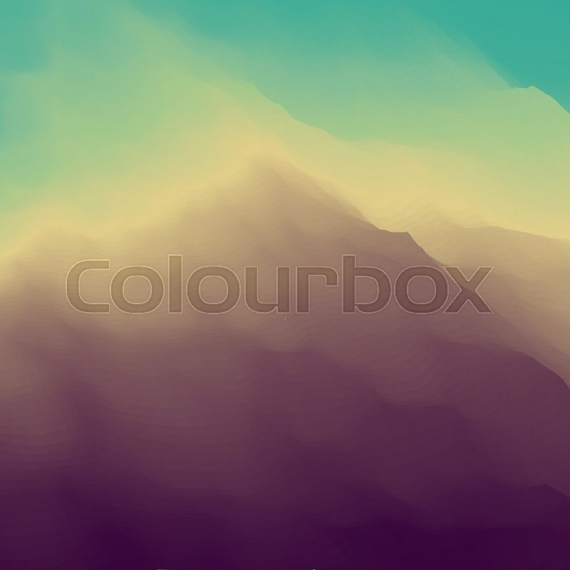 Landscape Book Cover Design : Mountain landscape mountainous terrain design