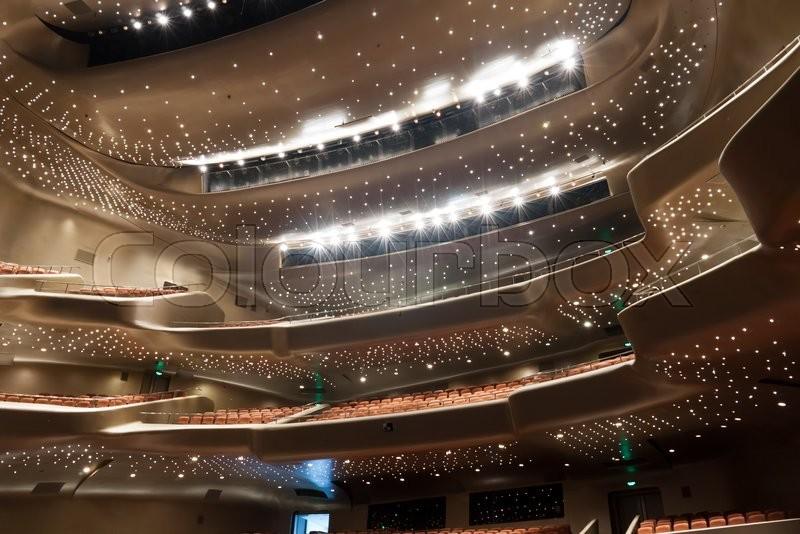 Modern Theatre Room Design
