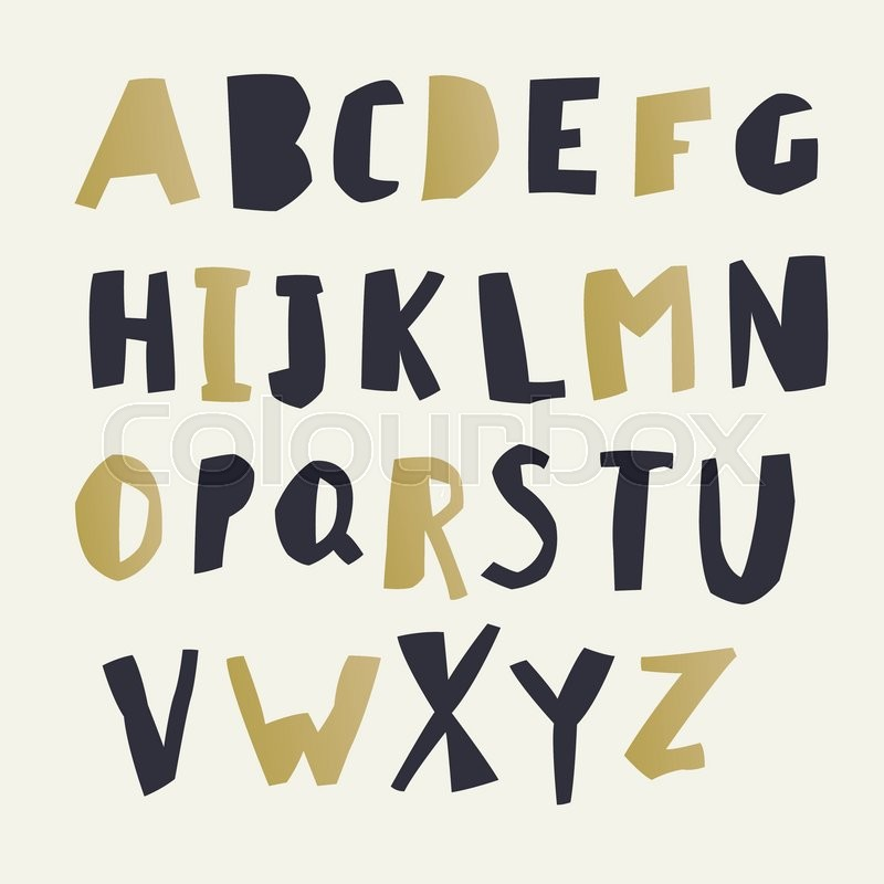 Easy Edited Color Of Letter Capital Letters Each In Separate Group And Ready For Use Good Ecology Environment Nature Organic Themed Designs