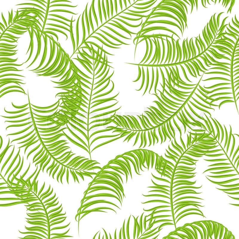 Free Graphics Lush Vector Trees and Summer Leaves