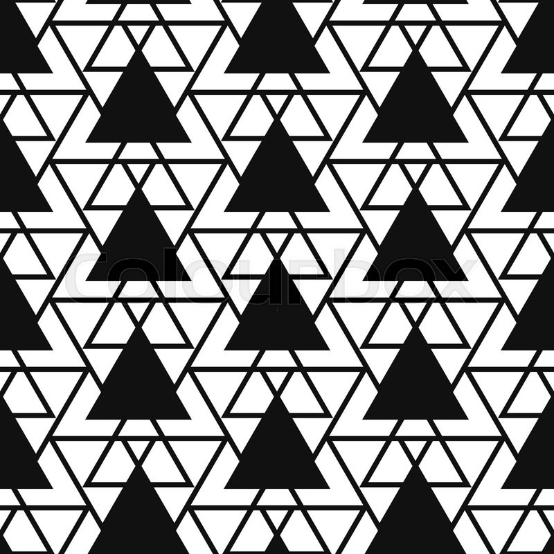 Simple triangle patterns - photo#24