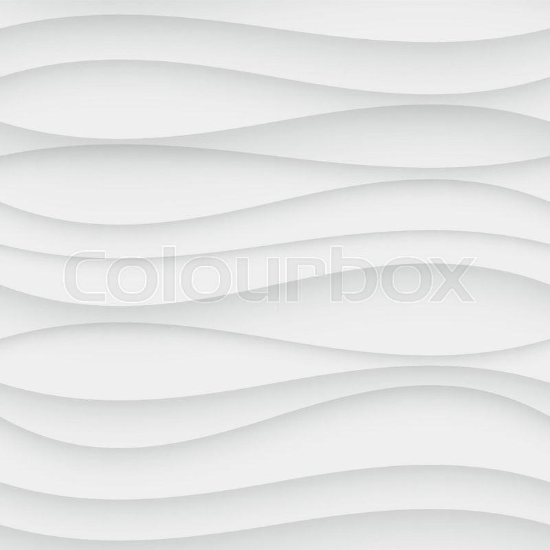 Seamless Wave Pattern Curved Shapes Background Regular
