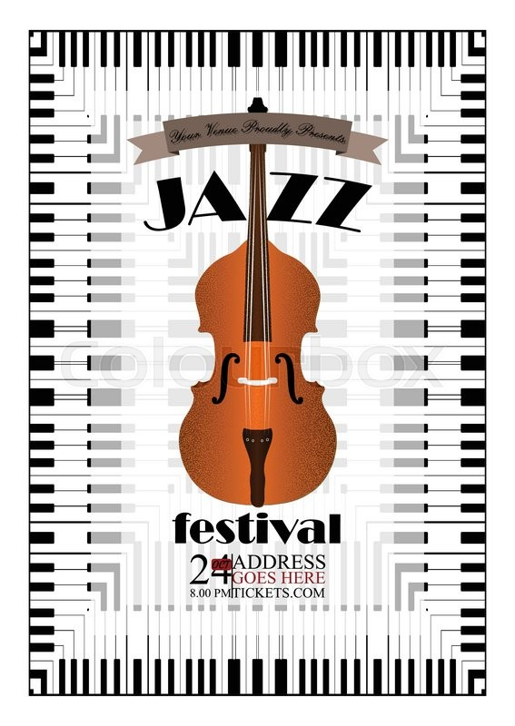 jazz  rock or blues music poster
