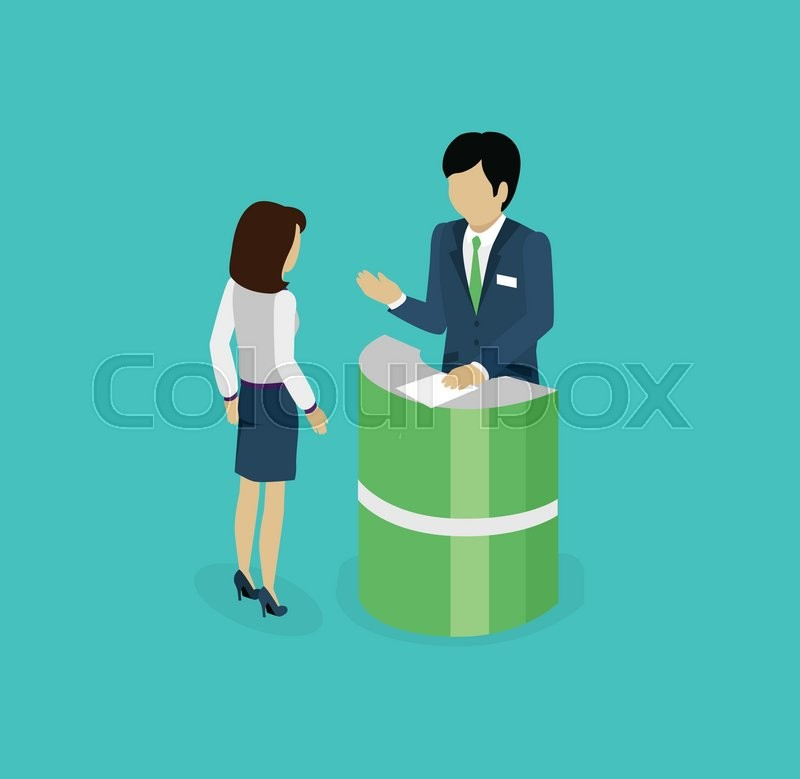 Isometric consultation icon isolated design flat 3d for Design consulting services
