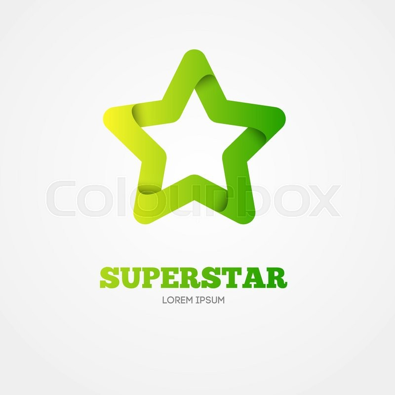 star vector logo template star emblem celebrity star champion rating star star symbol starburst logo success star icon logotype