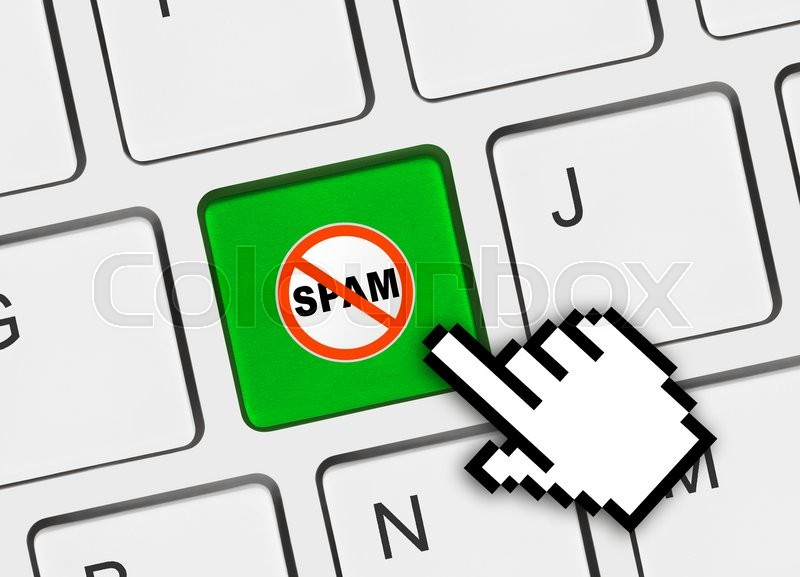 how to clean spam from computer