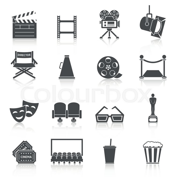 Film production icons