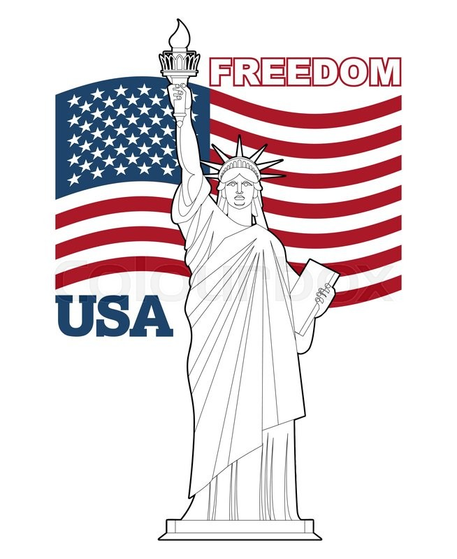The american flag a symbol of freedom justice and history