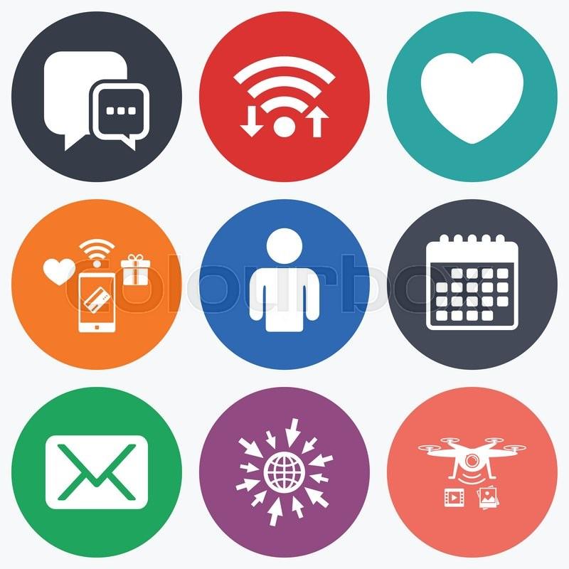 Symbols For Social Media Clipart Library