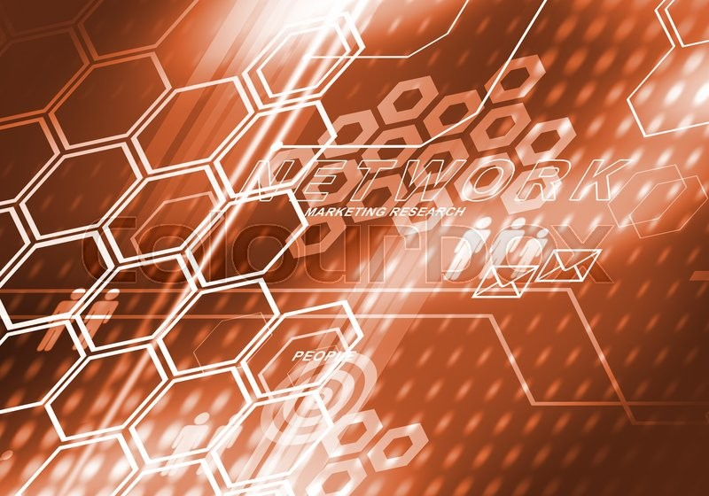 Digital background image presenting modern business concepts, stock photo