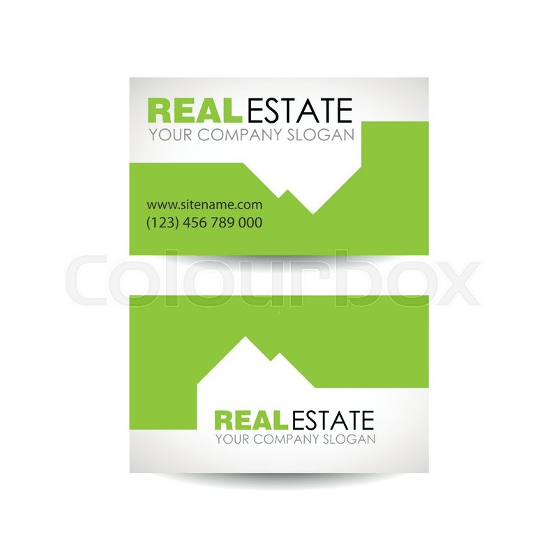 Eco House And Real Estate Logo Template
