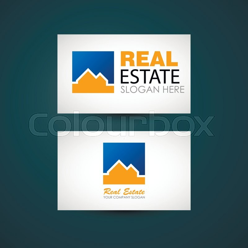 Real estate logo design. Real Estate business company. Building ...