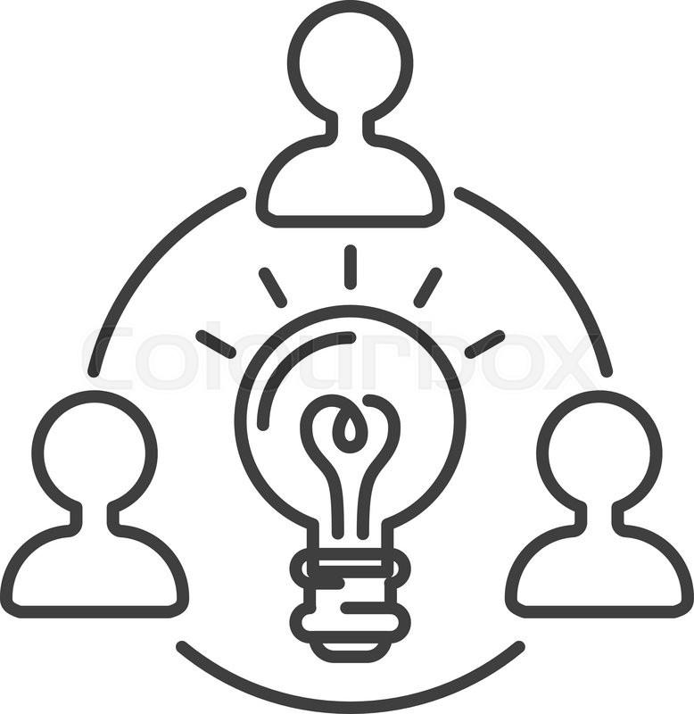idea symbol bulb lamp and idea icon concept  power design