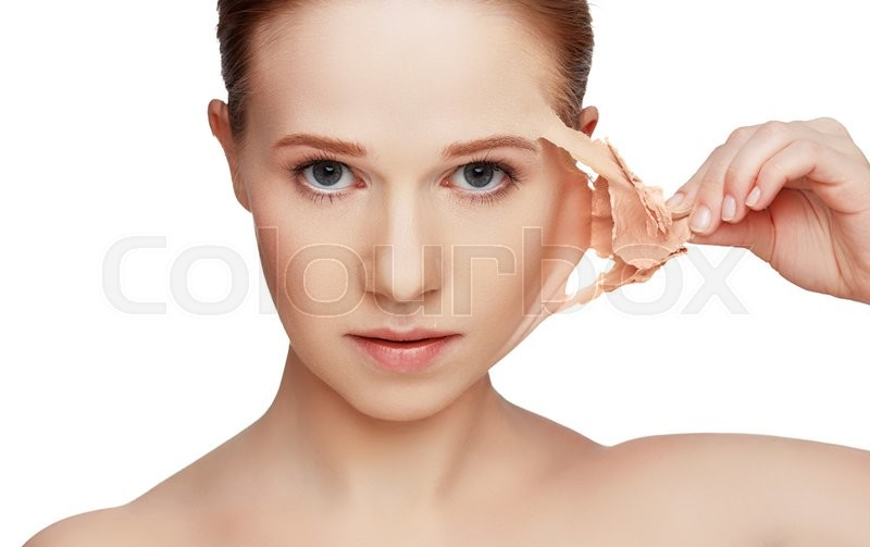 Beauty concept rejuvenation, renewal, skin care and skin problems, stock photo