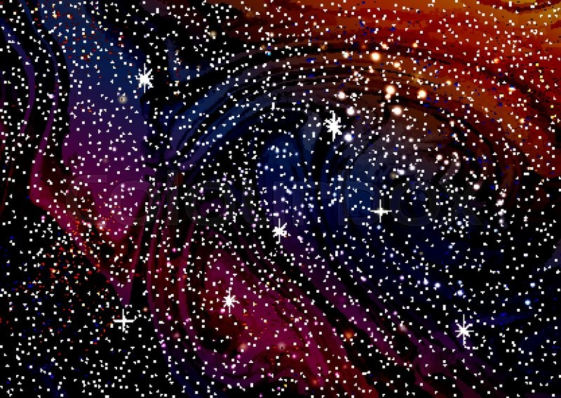 Book Cover Background Music : Cosmic galaxy watercolor background with stardust and