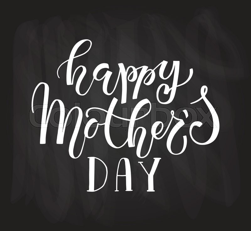 Happy Motheru0027s Day Text As Motheru0027s Day Badge, Tag And Icon. Quote Card/invitation/flyer/banner  Template. Love Background. Happy Motheru0027s Day Lettering ...