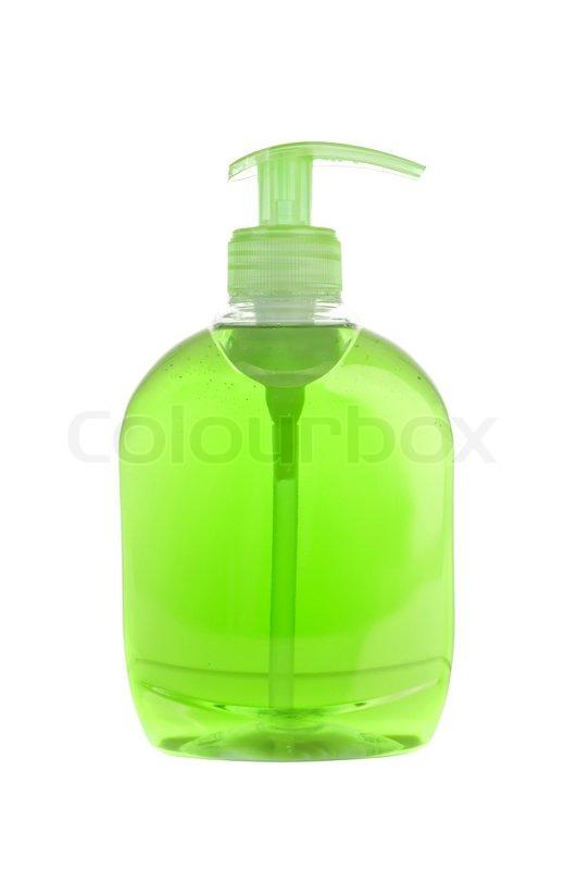 grøn sæbe