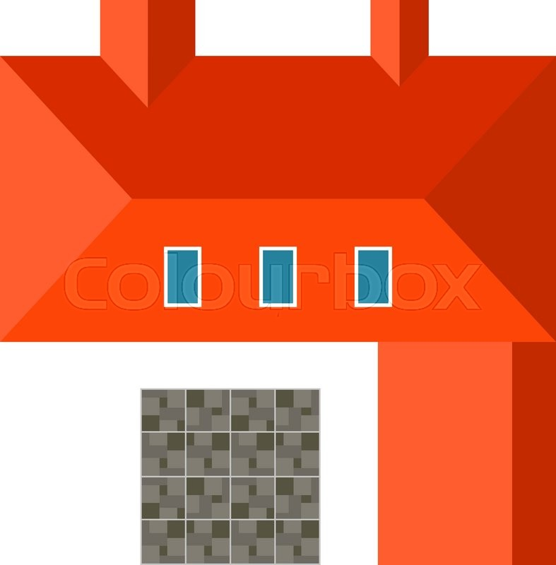 House estate building top view and urban house top view for House design top view