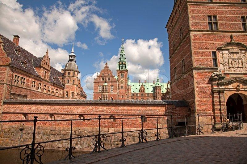 Eintritt Schloss Frederiksborg Stockfoto Colourbox