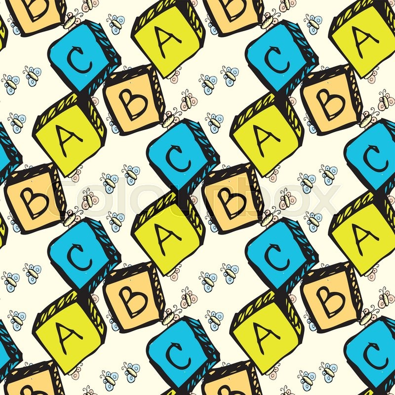 abc blocks seamless pattern seamless pattern can be used for