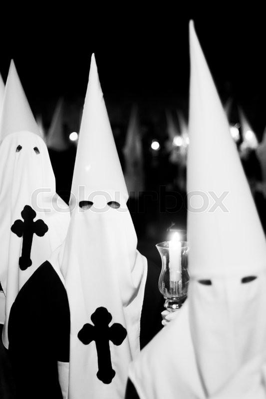 Easter catholic Spanish procession ...