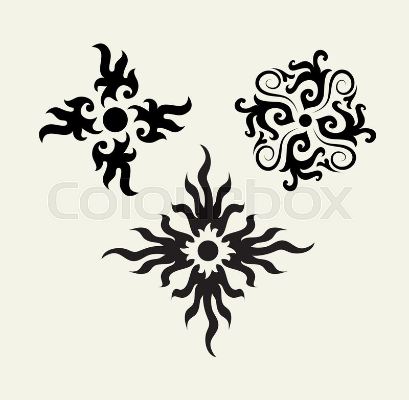 Flower with floral ornament decoration good use for symbol logo web icon tattoo design sign sticker or any design you want vector