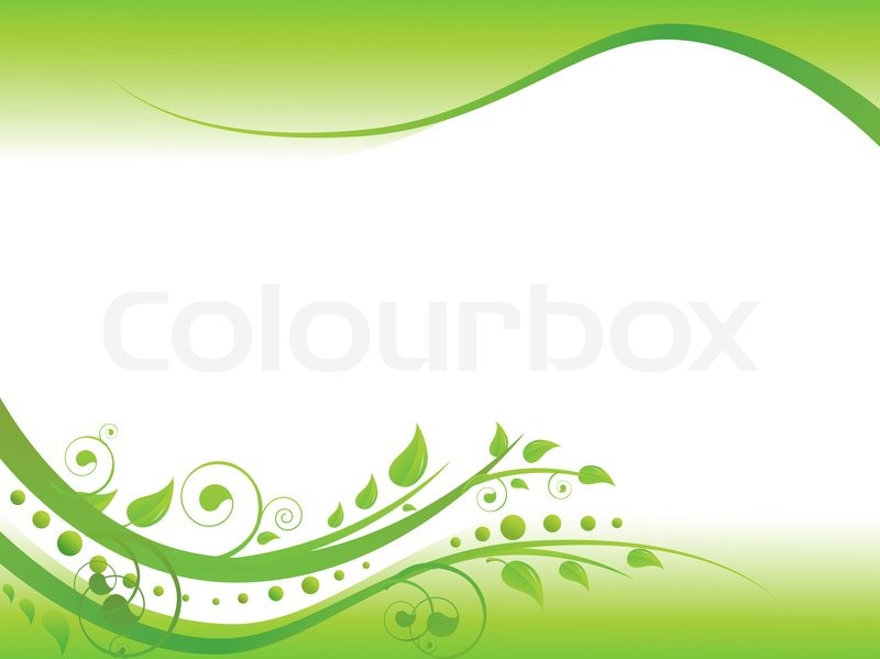 Illustration of floral border in green with copy space for your text illustration of floral border in green with copy space for your text stock photo colourbox altavistaventures Images