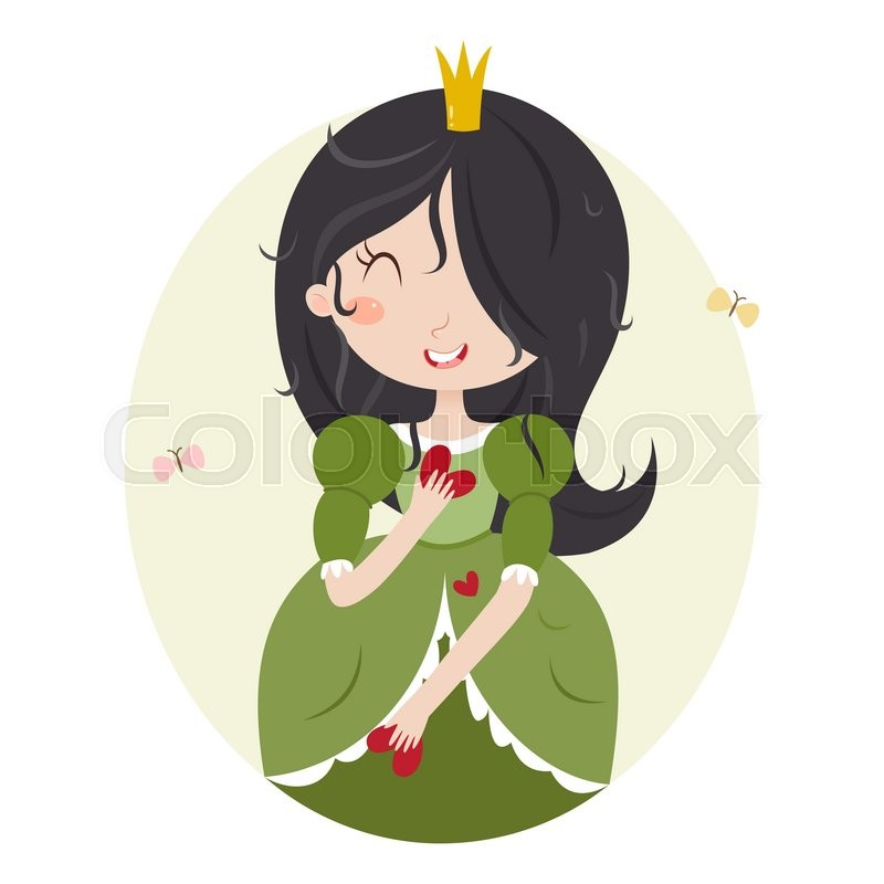 Cute Horoscope. Zodiac Signs. Virgo. Series Of Cartoon Zodiac