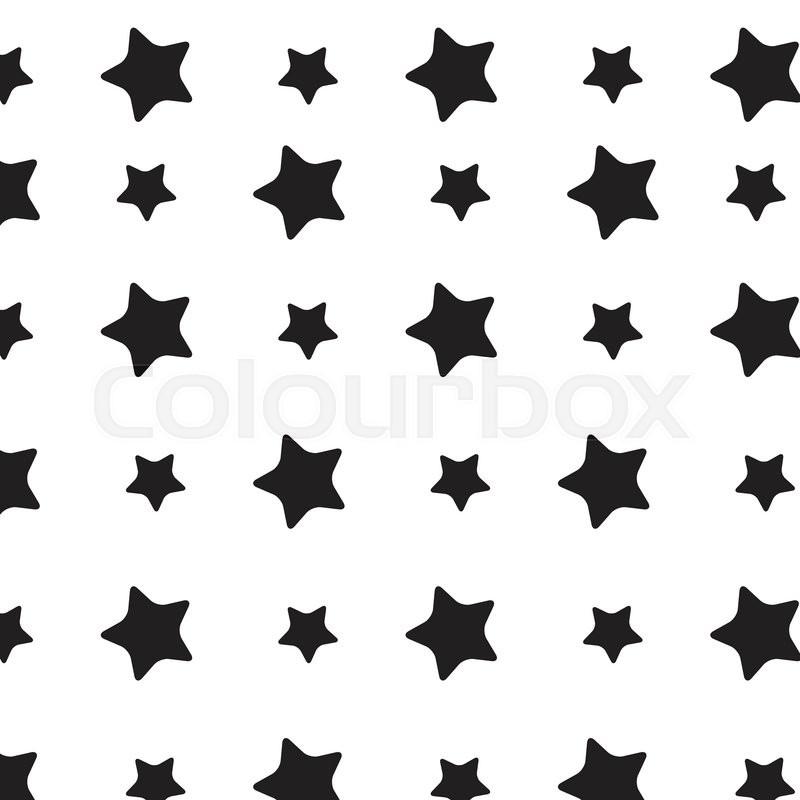 stars sky black white pattern stars background and starburst stars rh colourbox com vector star outline vector star wars
