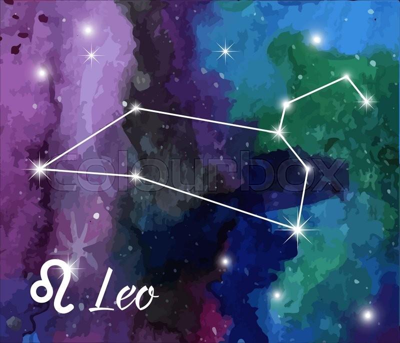 Leo, Horoscope Star Sign On Hand ...