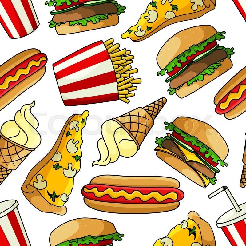 cartoon hamburger wallpaper - photo #19