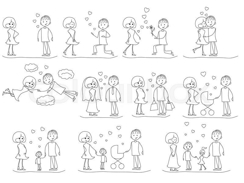 Partnersuche sketch
