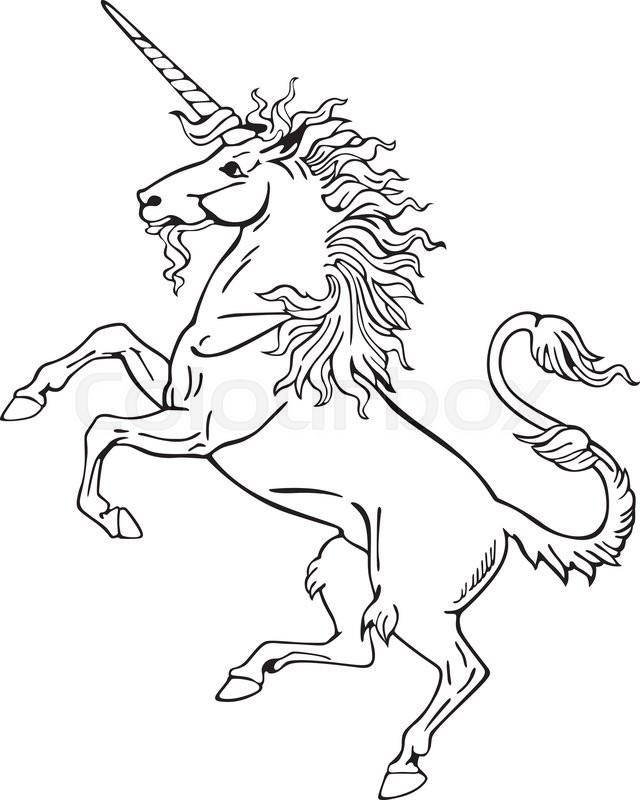 heraldry and unicorn represent