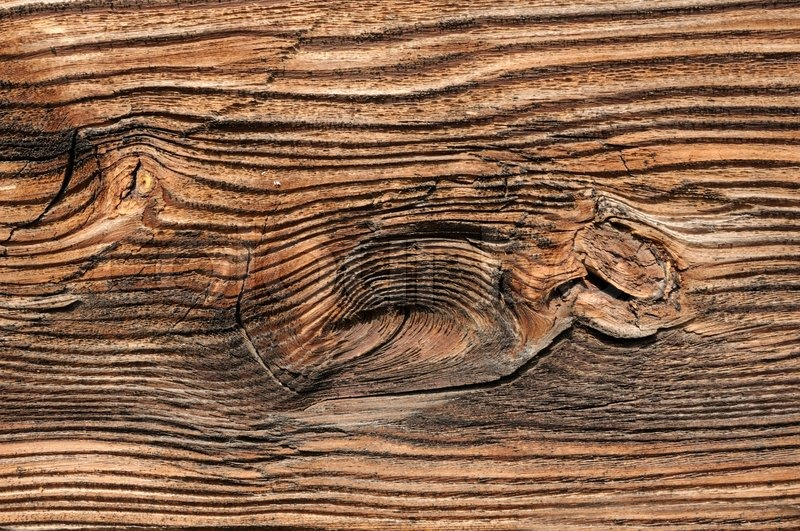 Knotted Wood Background Stock Photo Colourbox