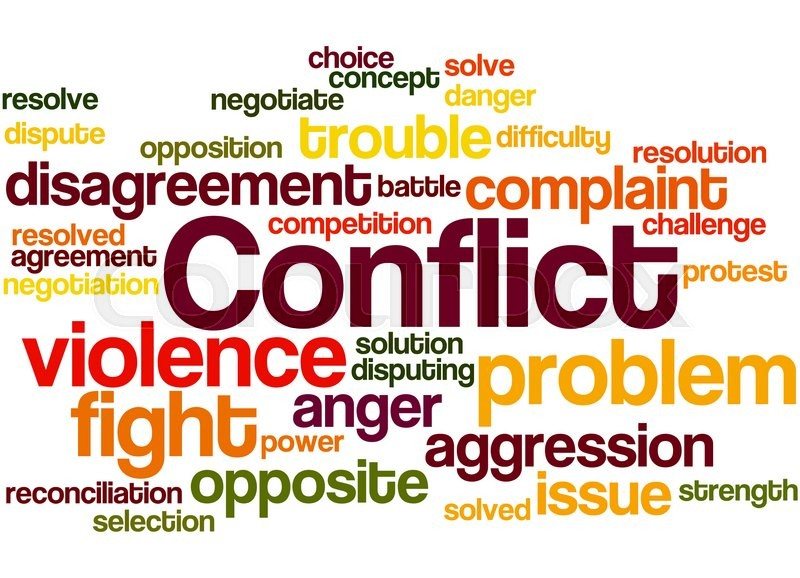 conflict cannot be resolved trough violence The issue cannot be resolved this means that we do not have to have an ongoing maliciousness conflict when the issue hangs loose yes, i do have personal examples of handling conflict peacefully.