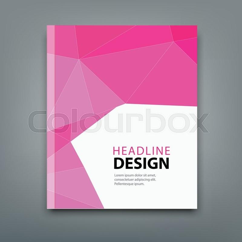 modern brochure cover design background professional book in