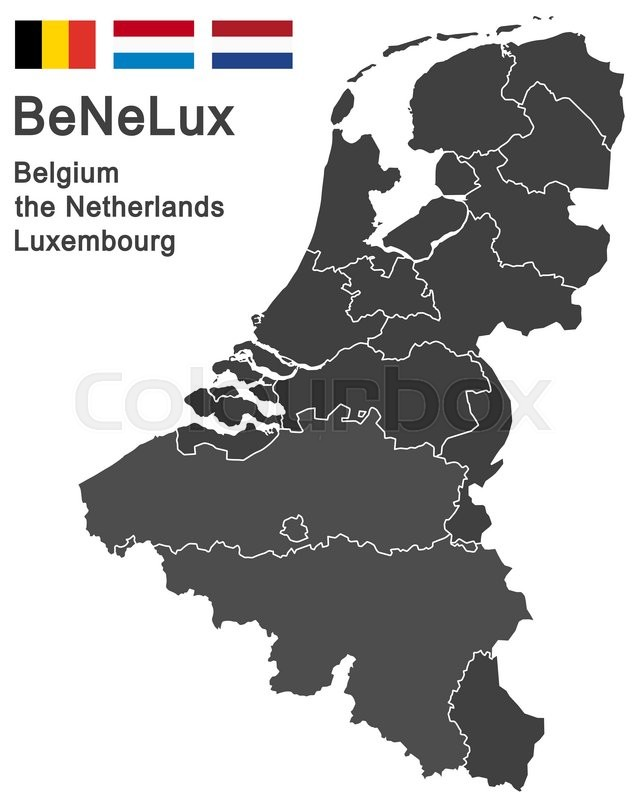 European countries belgium the netherlands luxembourg and all