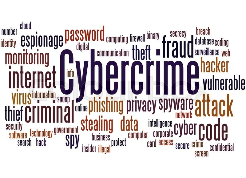 Cybercrime word cloud concept on white background stock photo cybercrime word cloud concept on white background stock photo reheart Images