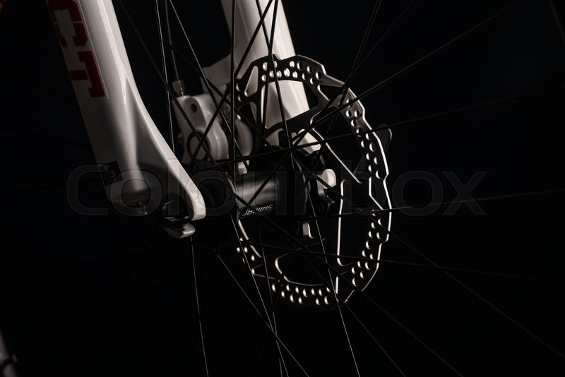 Stock foto af 'Mountainbike bikeparts'