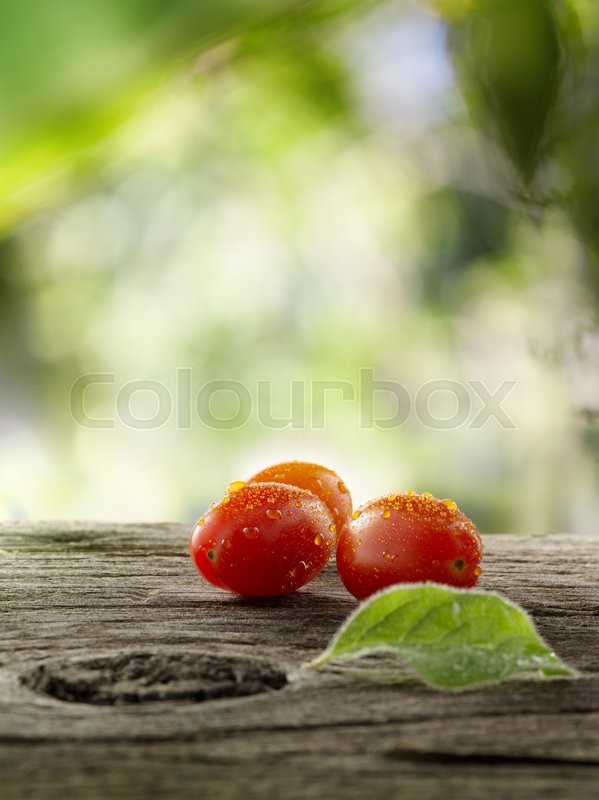 Stock foto af 'low-calories, sommer, tomat'