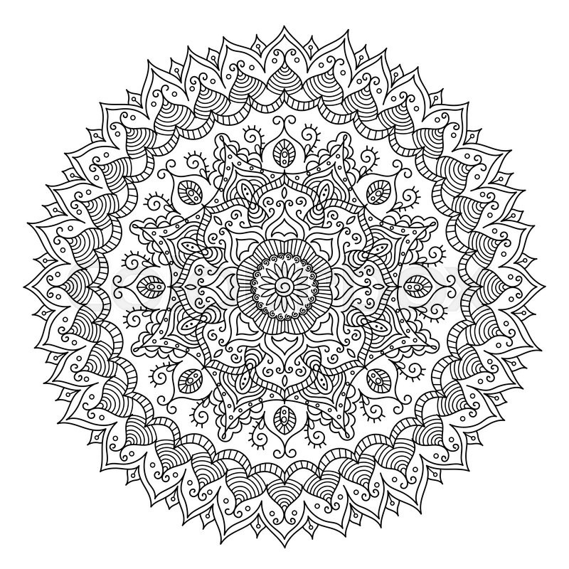 Groß Mandala Vintage Bilder - Malvorlagen-Ideen - printingontshirts.info