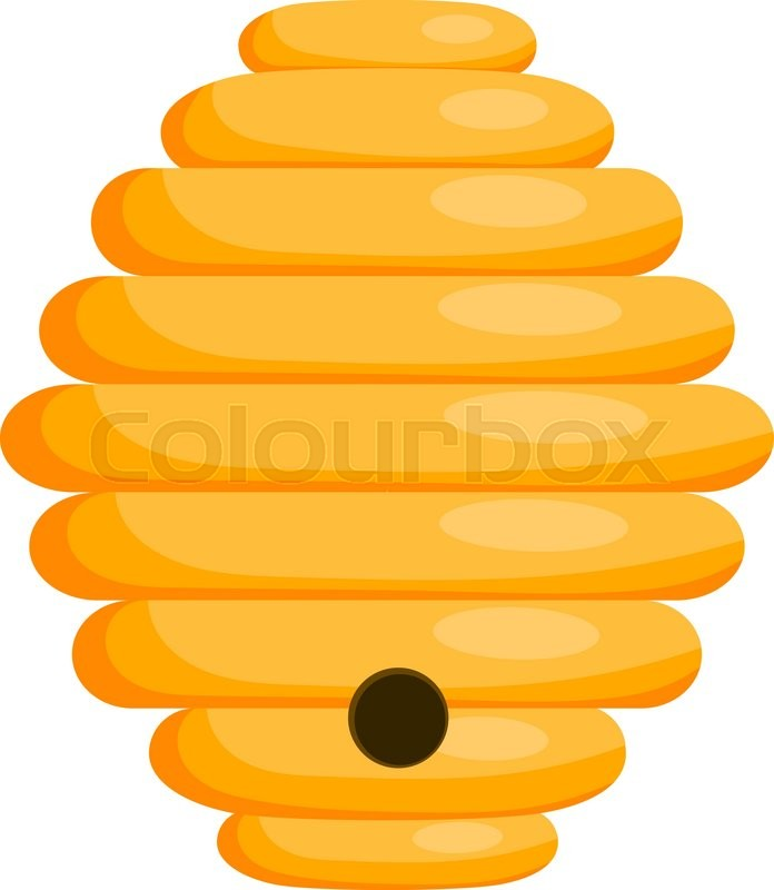 yellow bee hive on a white background bee hive isolate free honey bee hive clip art free animated honey bee clip art