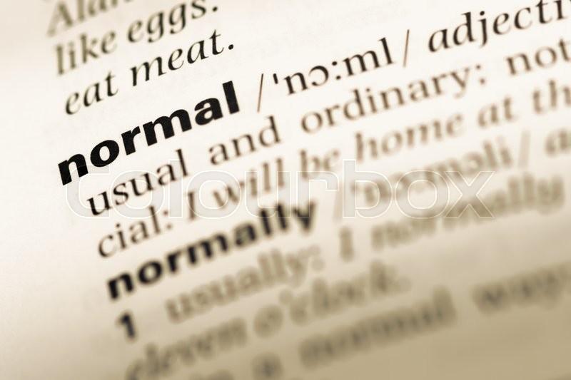 word normal