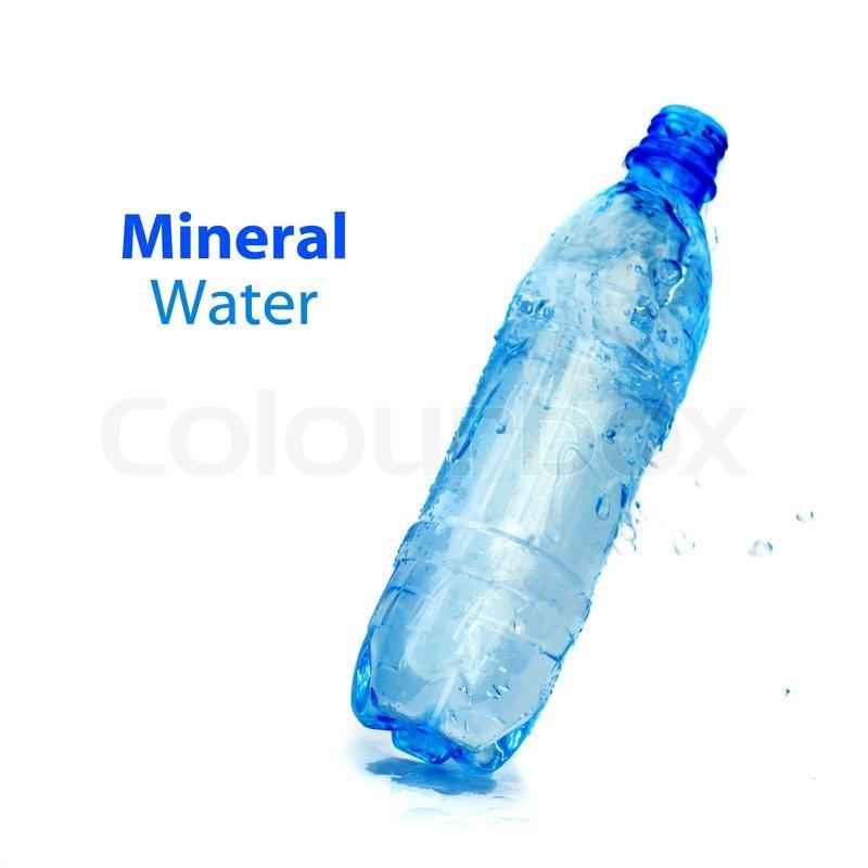 Mineral Water Bottle Logo Mineral Water Bottle Isolated