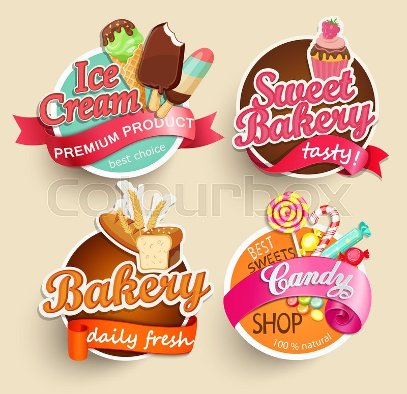 Sticker Design For Food