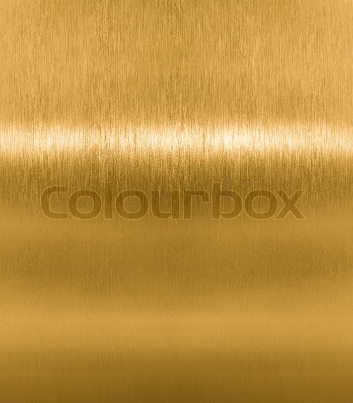 Brass Or Golden Metal Texture Stock Photo Colourbox